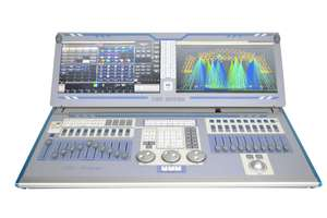TGT SUPER---Double Screen Tigher Touch Lighing Console (12 OUTPUTS)